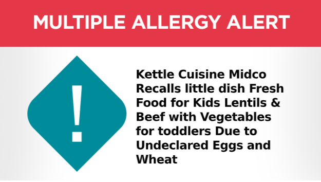 Little Dish Fresh Food for Kids Recall